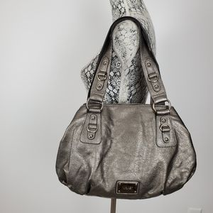 Nine West gunmetal  shoulder handbag
